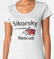 Helicopter Women's Premium T-Shirt
