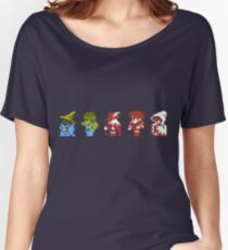 Final Fantasy - Team up Women's Relaxed Fit T-Shirt