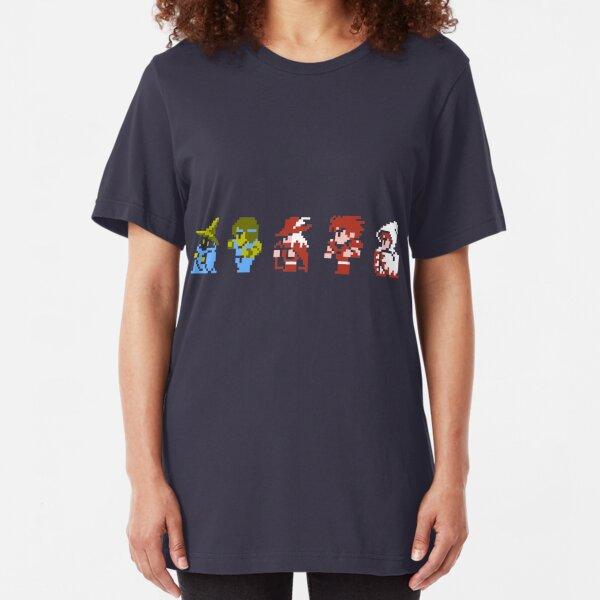 Final Fantasy - Team up Slim Fit T-Shirt