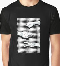 Rave Hands Rock Paper Scissors  Graphic T-Shirt