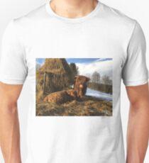 Scottish Highland Cattle Calves 1657 Unisex T-Shirt