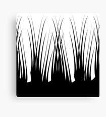 Graphic Black & White design. Canvas Print