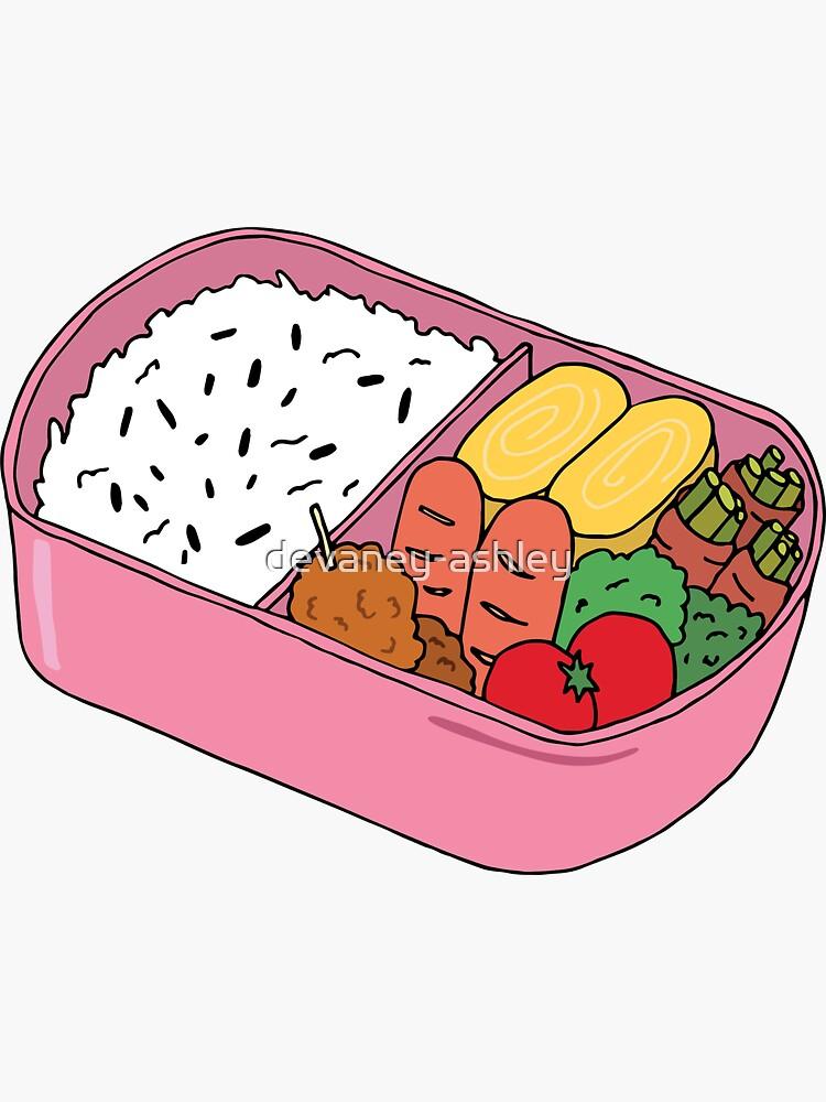 Bento Lunch by devaney-ashley