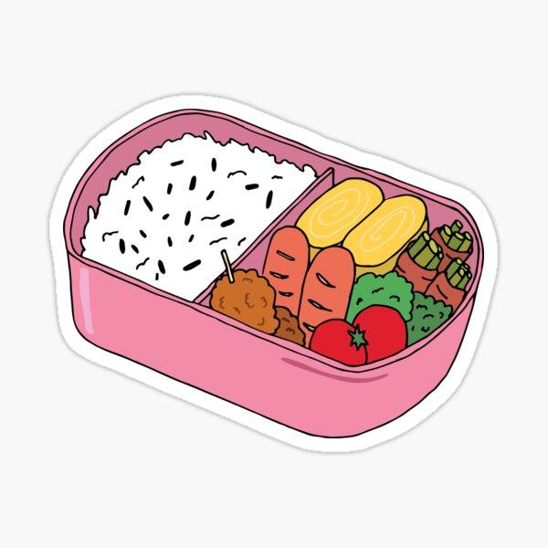 Bento Lunch Sticker