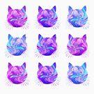 «Gatos holográficos» de MayaTauber