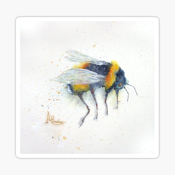 My Bee Sticker