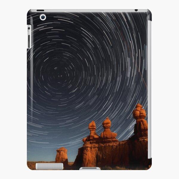 Star trails in Goblin valley iPad Snap Case