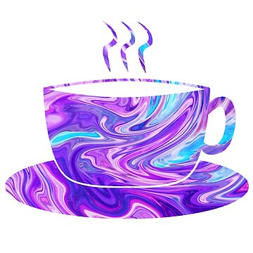 Holographic cup of coffee by MayaTauber