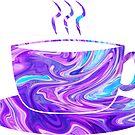 «Taza de café holográfico» de MayaTauber