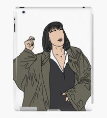 Mrs Mia Wallace iPad Case/Skin