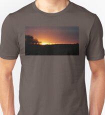 Turbine Sunset  Unisex T-Shirt