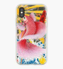 ukiyo-e betta fish  iPhone Case