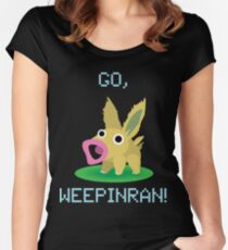 Cute Weepinran Pokemon Fusion Women's Fitted Scoop T-Shirt
