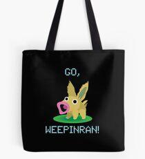Cute Weepinran Pokemon Fusion Tote Bag