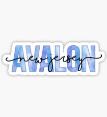 Avalon, NJ Sticker