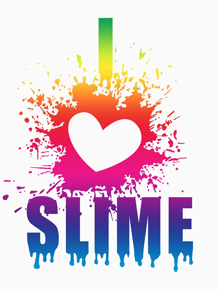 I Love Slime - Funny T Shirt Gift idea for slime parties by DigitalBadger