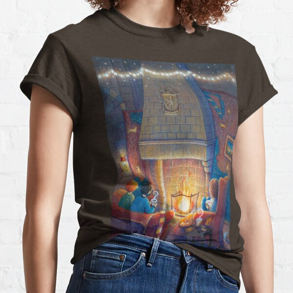 Fireplace and tea Classic T-Shirt