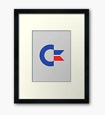 Commodore C64 Retro Classic Symbol Framed Print