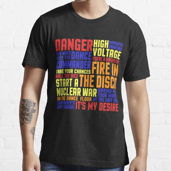 You Must Obey The Dance Commander Essential T-Shirt
