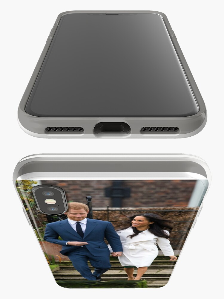 Alternate view of HRH Prince Harry and Meghan Markle Royal Wedding iPhone Case & Cover