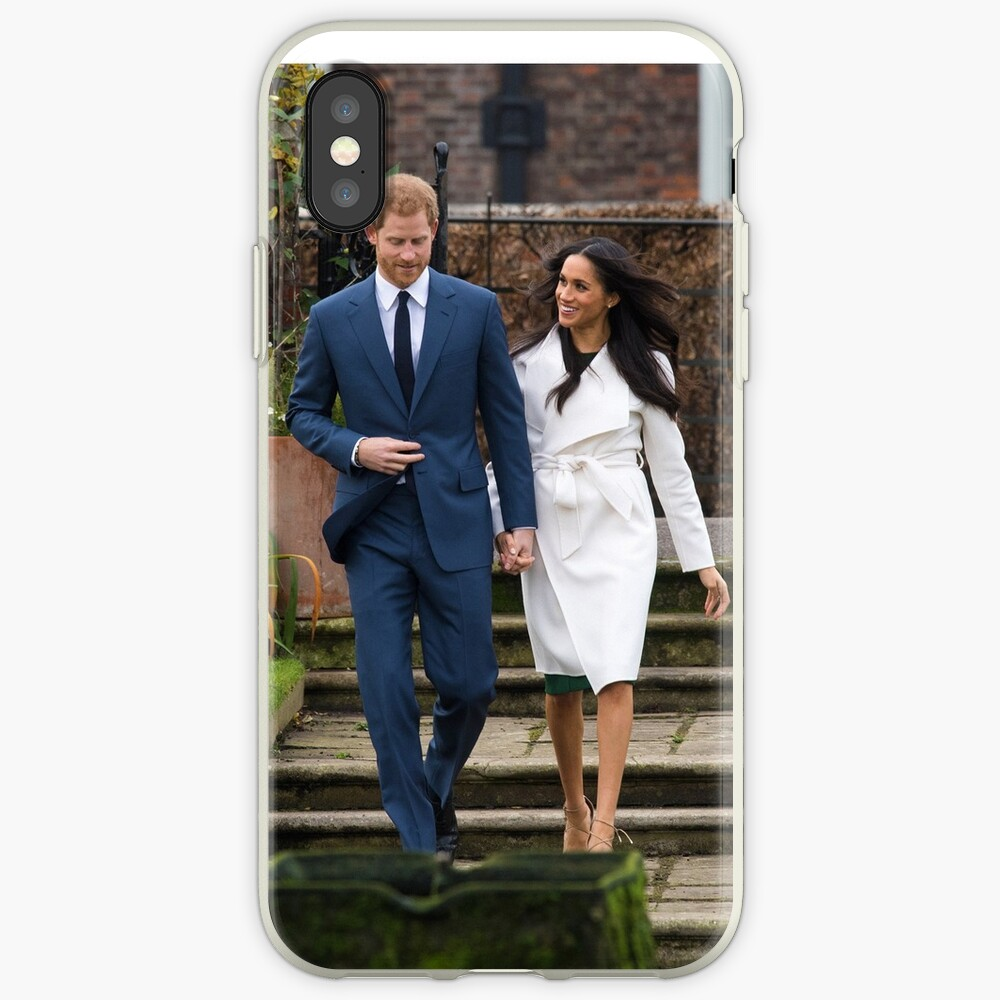 HRH Prince Harry and Meghan Markle Royal Wedding iPhone Case & Cover