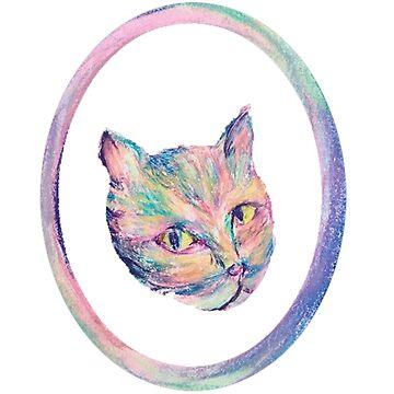 Portal Cat by xaxuokxenx