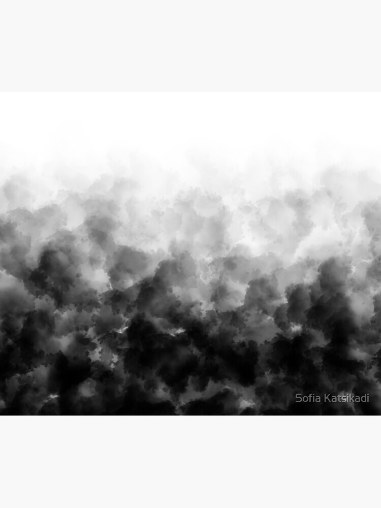Ombre Black and White Minimal by Sofiakat