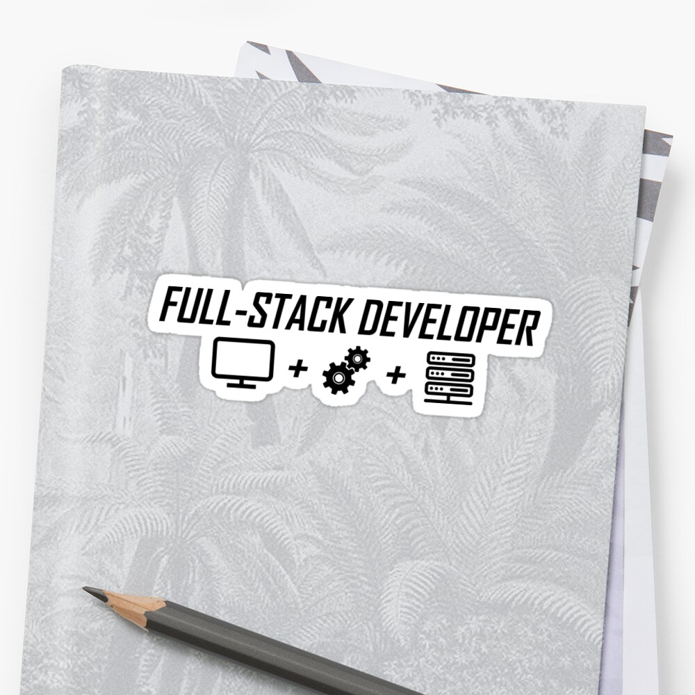 «fullstack black» de yourgeekside