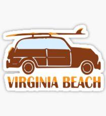 Virginia Beach. Sticker