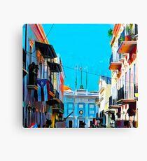 Fortaleza Street Canvas Print