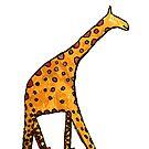 giraffe by wooddy