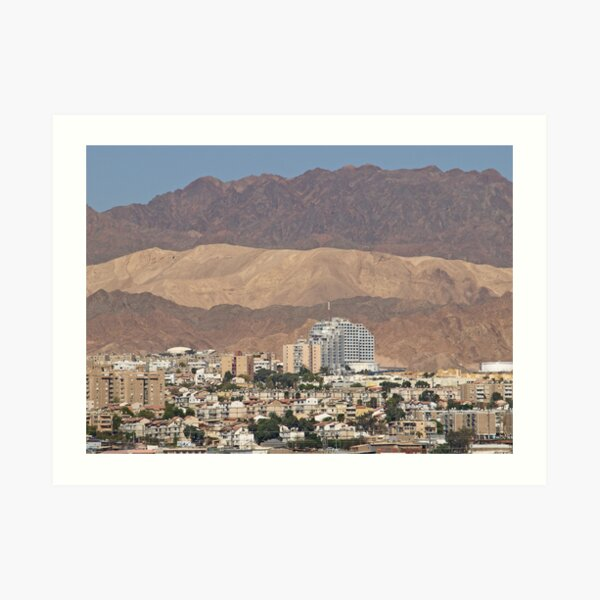 Eilat, Israel Art Print