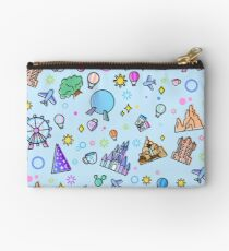 Meet me at my Happy Place Pattern Zipper Pouch