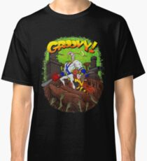 Earthworm Jim vs The Army of Darkness! Classic T-Shirt