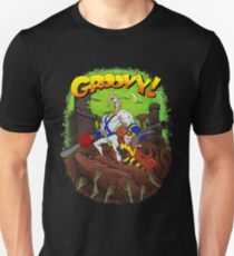 Earthworm Jim vs The Army of Darkness! Unisex T-Shirt