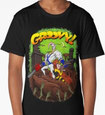 Earthworm Jim vs The Army of Darkness! Long T-Shirt