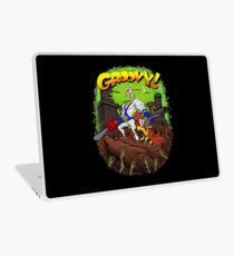 Earthworm Jim vs The Army of Darkness! Laptop Skin