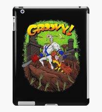 Earthworm Jim vs The Army of Darkness! iPad Case/Skin