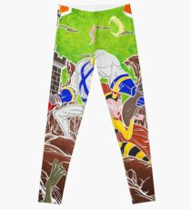 Earthworm Jim vs The Army of Darkness! Leggings