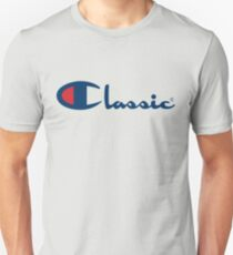 Classic Made Great, Champion ® Blue Unisex T-Shirt