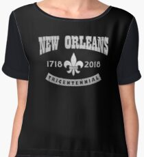 New Orleans tricentenary Chiffon Top