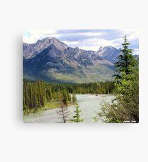 Alberta ! Canvas Print