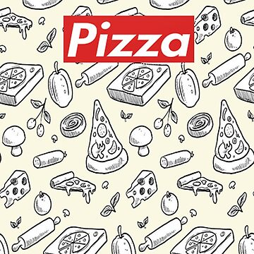 people who like pizza-funny t-shirt, Phone Cases & Skins, Clock,Drawstring Bags-supreme by aymeenshop