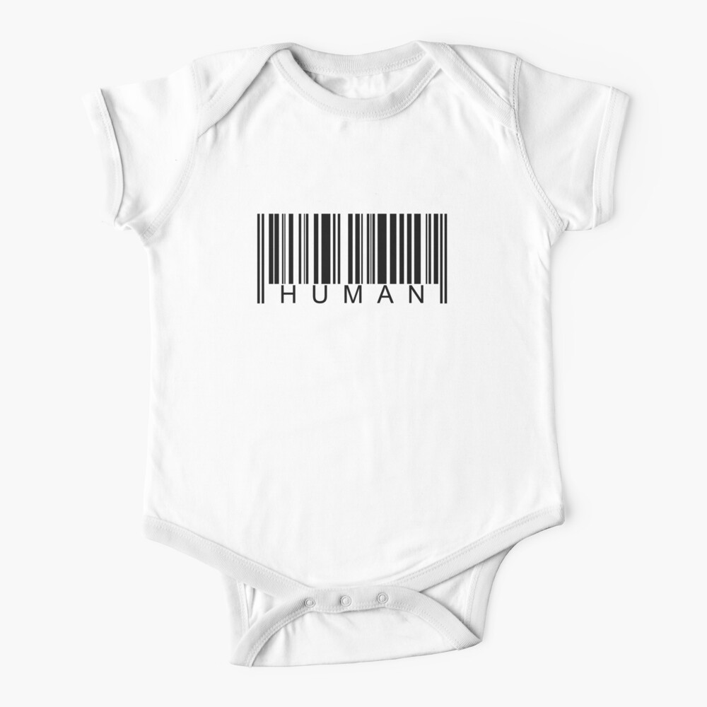Human Barcode Baby One-Piece