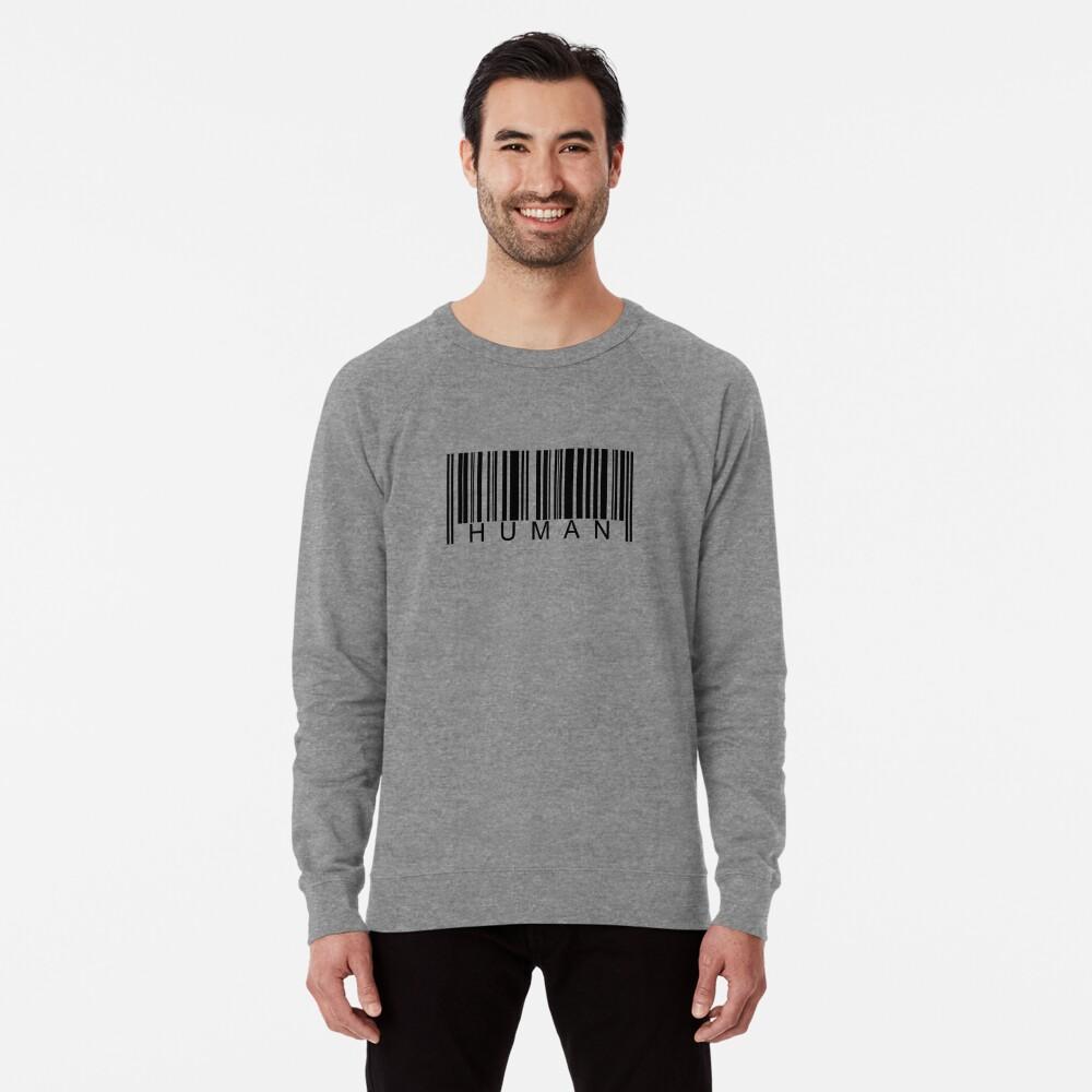 Human Barcode Lightweight Sweatshirt