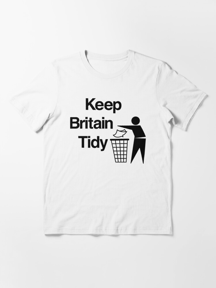 Alternate view of NDVH Keep Britain Tidy Essential T-Shirt