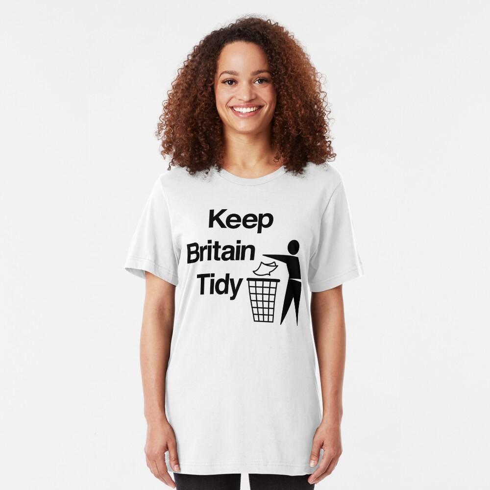NDVH Keep Britain Tidy Slim Fit T-Shirt