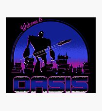 Welcome to Oasis Photographic Print