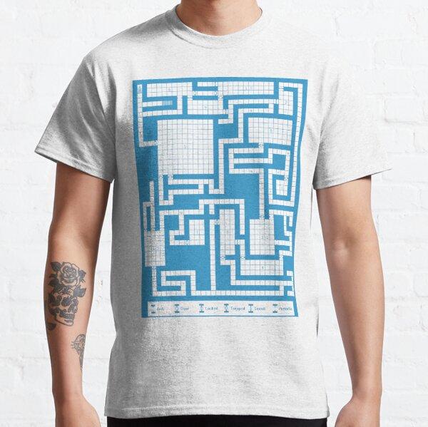 Old School RPG Map Classic T-Shirt