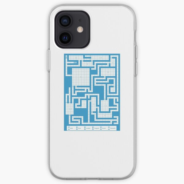 Old School RPG Map iPhone Soft Case